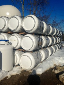 500 gallon propane tanks
