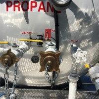 delivery truck for propane