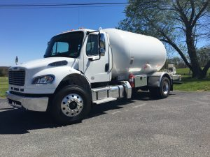 large lp gas truck