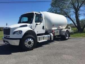 large lp gas truck