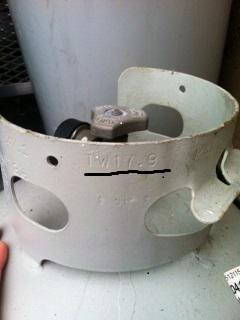 propane tank tare weight